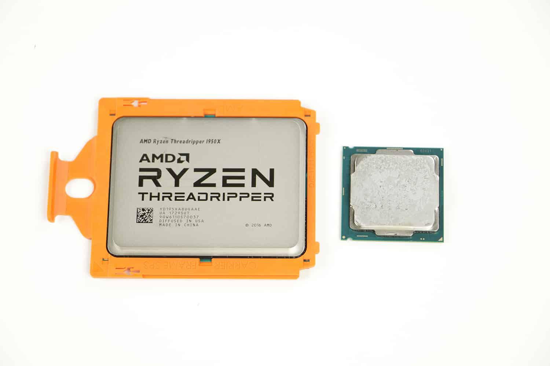 Ryzen Threadripper 1950x VS Intel Kaby Lake