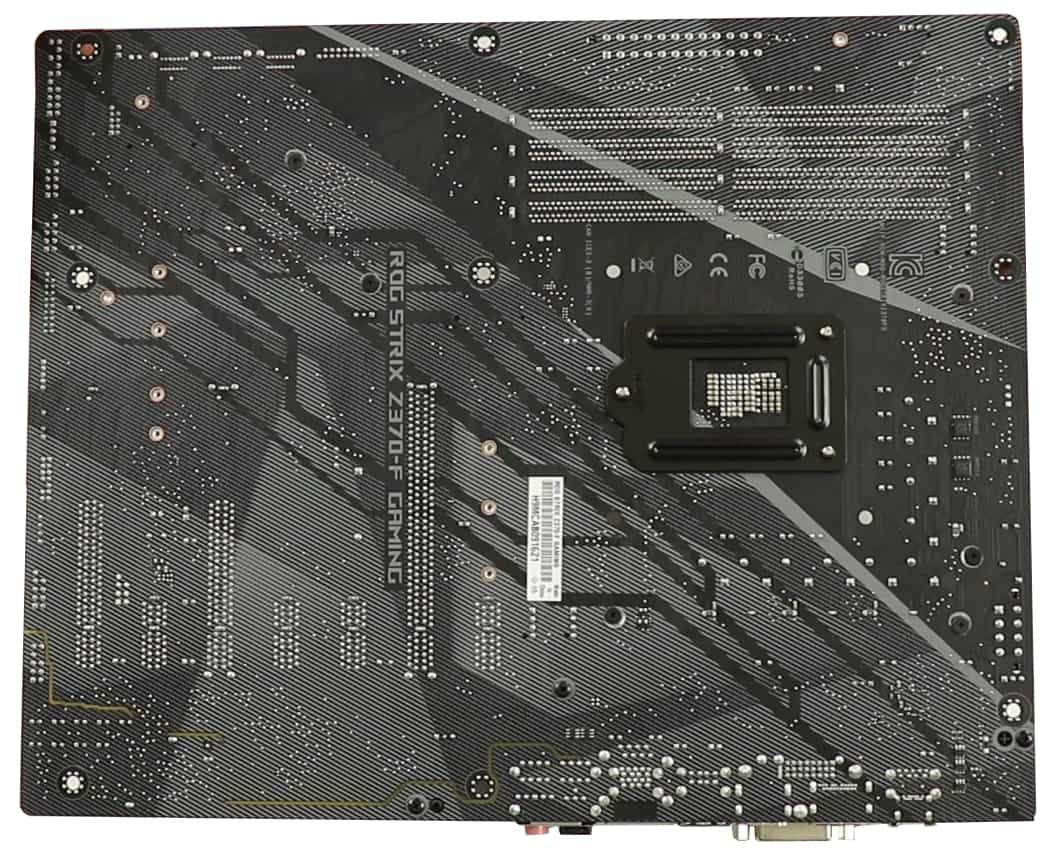 ROG STRIX Z370-F Gaming, Back