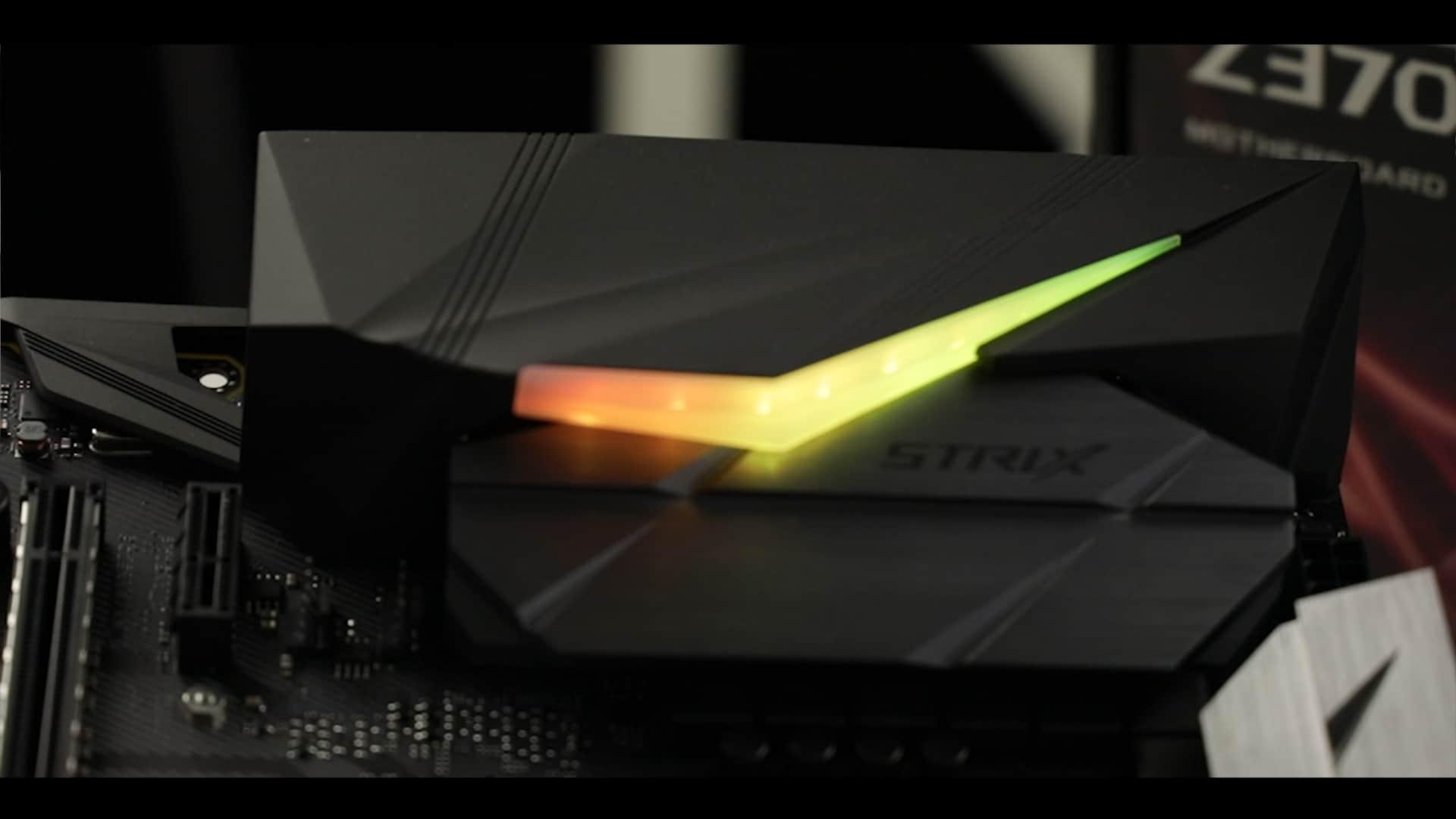 ROG STRIX Z370-F Gaming, AURA