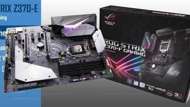 ROG STRIX Z370-F Gaming