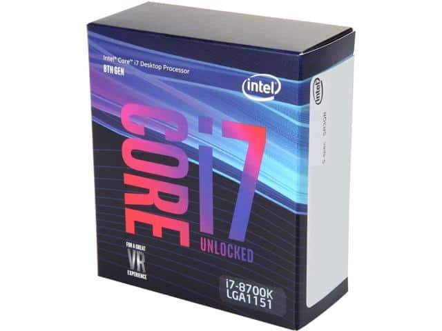 Coffee Lake I7-8700K