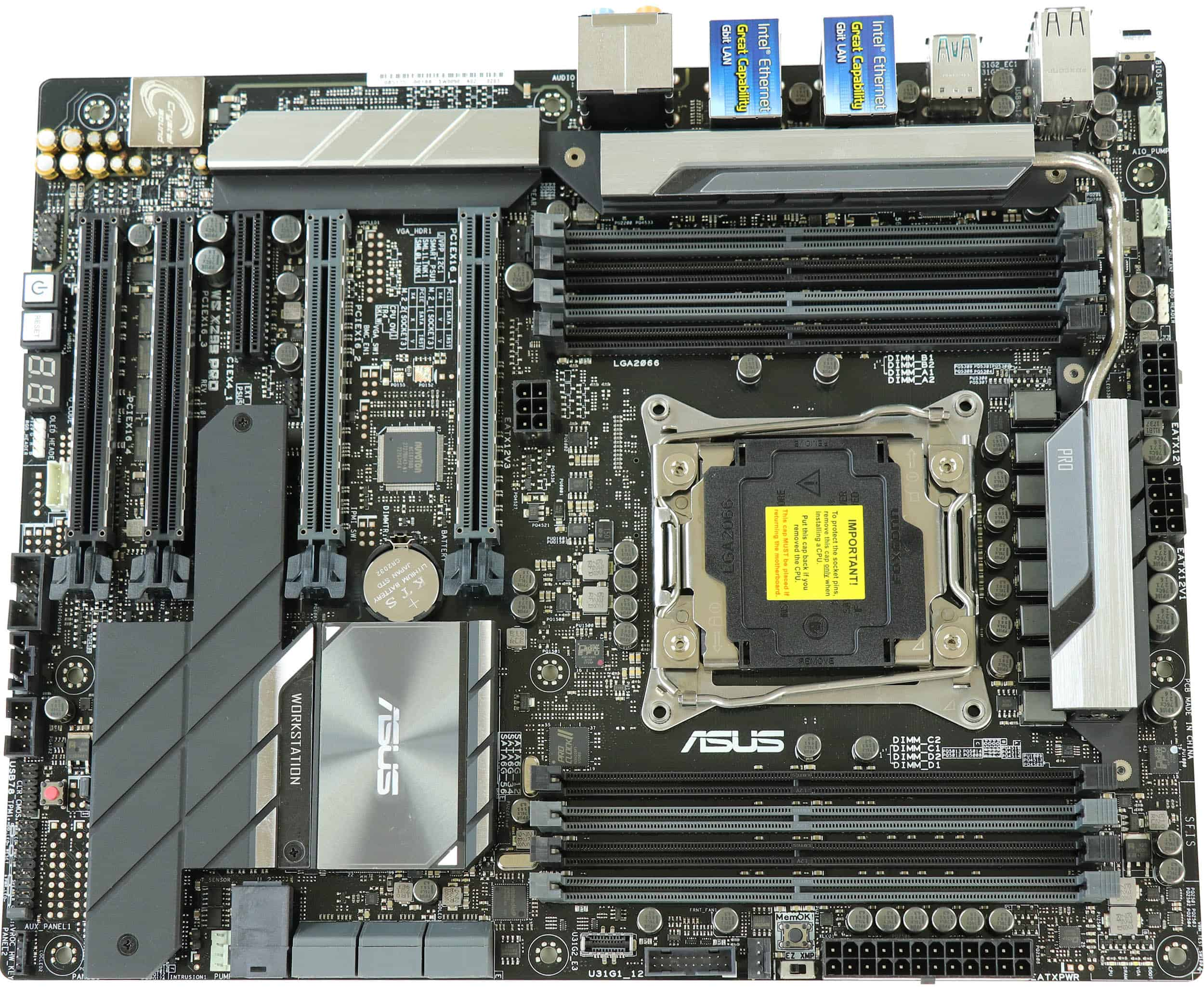 Front, WS X299 Pro