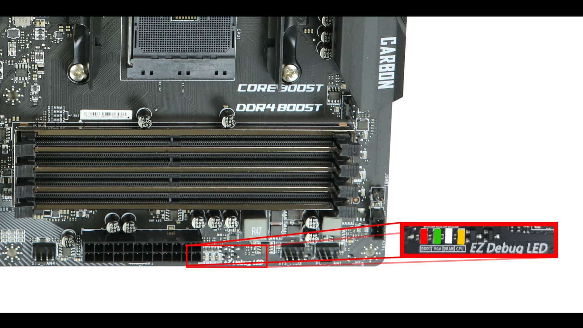MSI X470 Gaming Pro Carbon EZ debugger