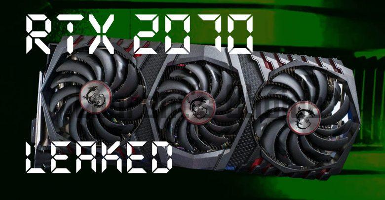 RTX 2070 Leak