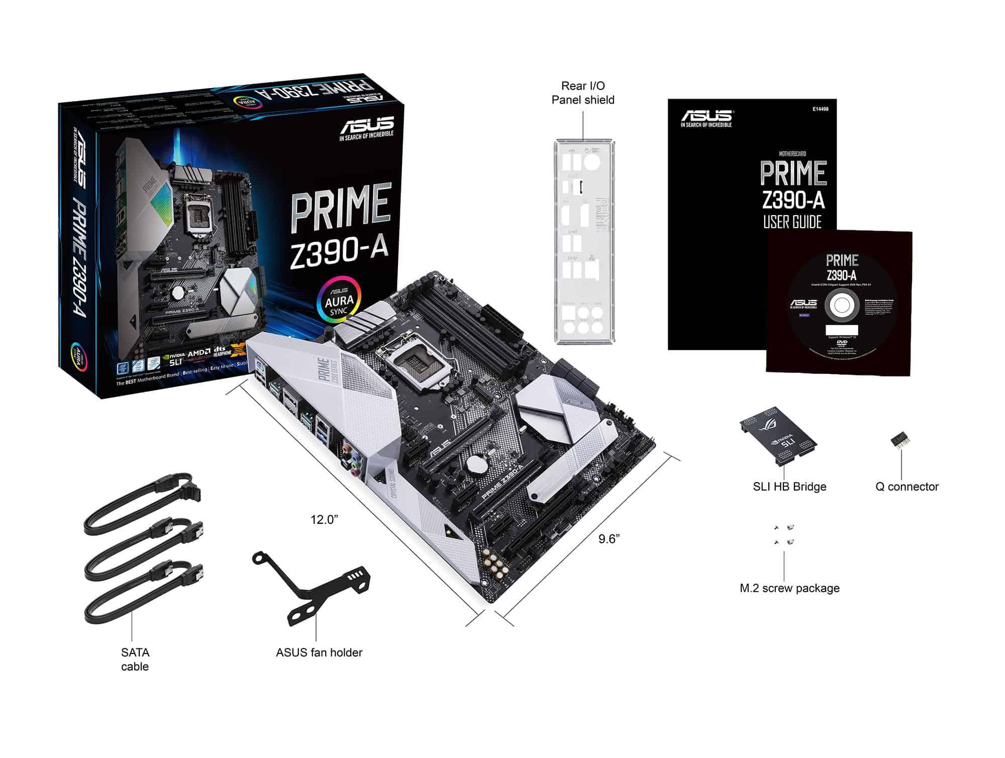 Asus Prime Z390-A - Laurent's Choice