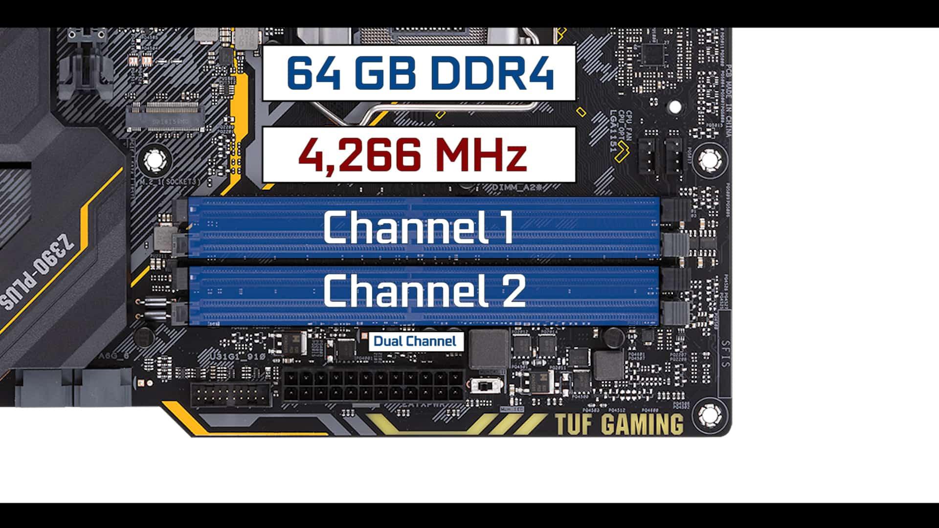 TUF-Z390-PLUS-GAMING RAM