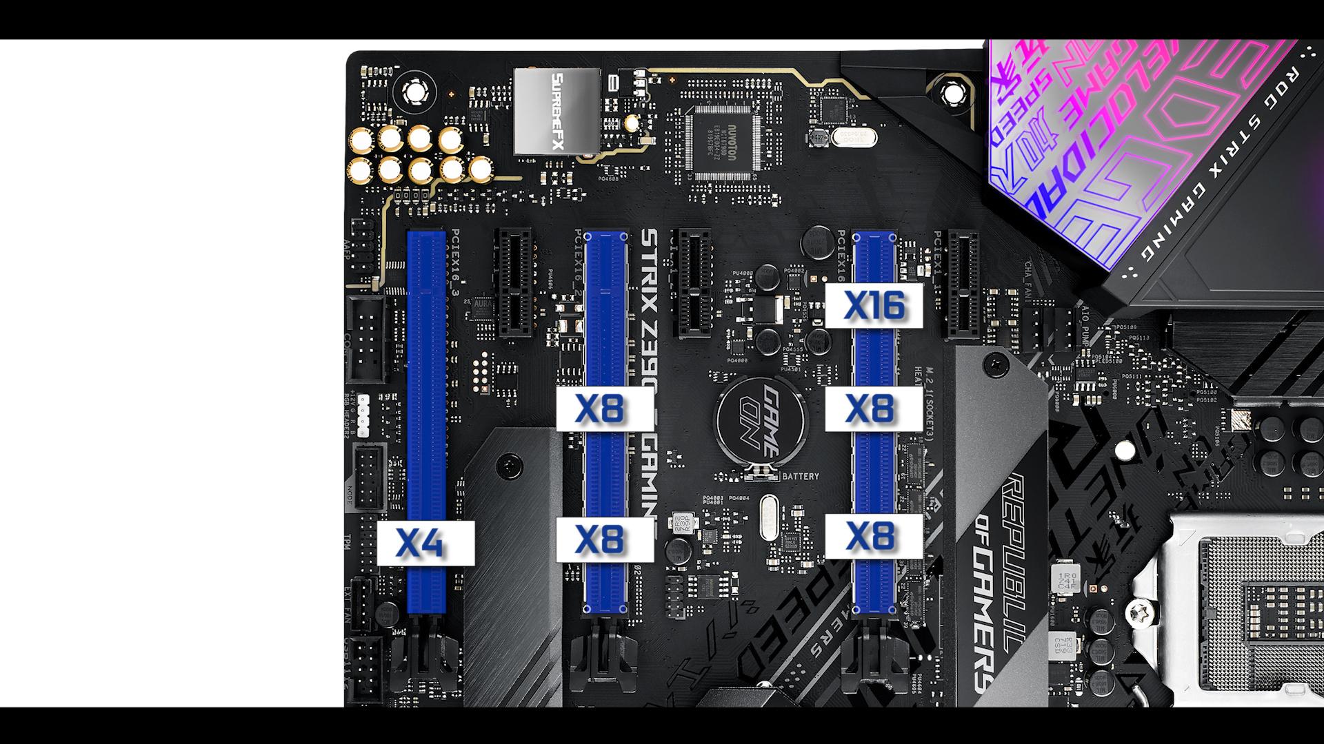 ROG STRIX Z390-E PCIe