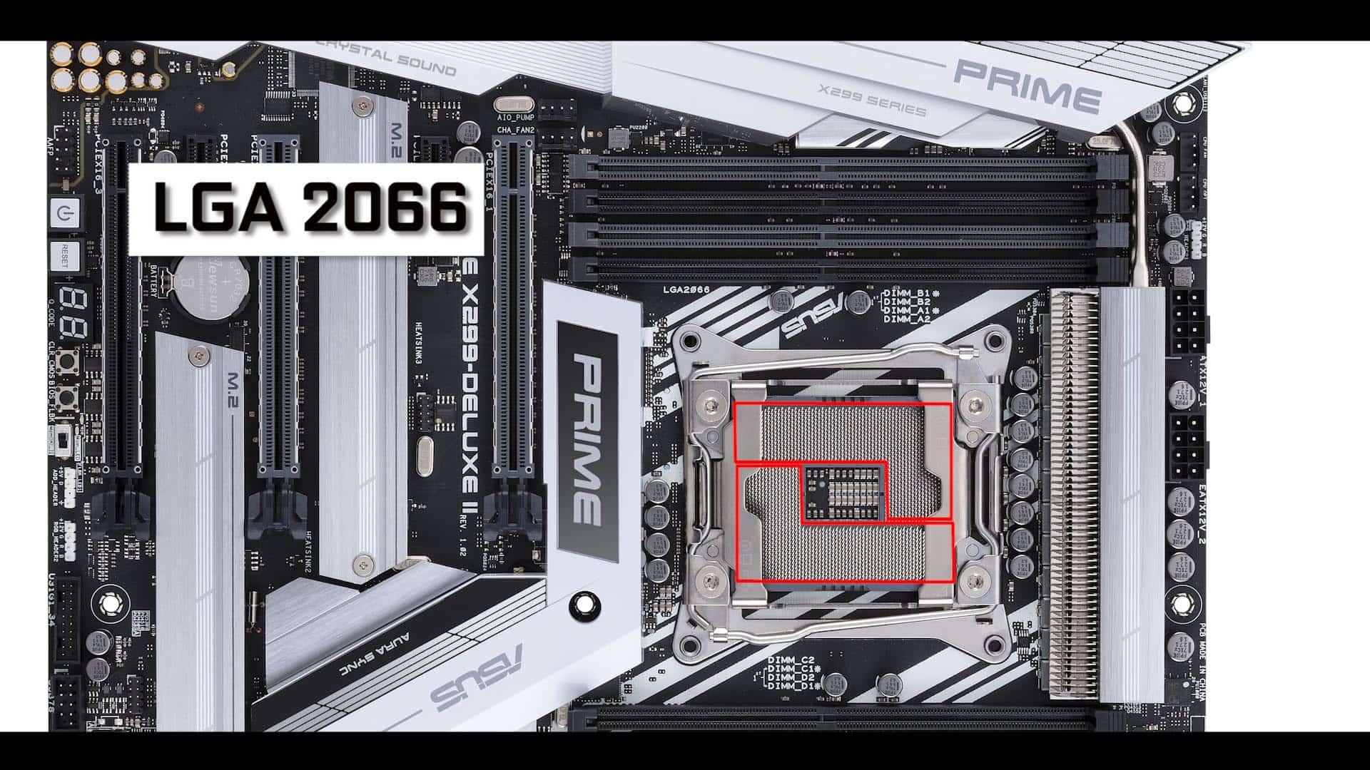 Prime X299 Deluxe II SOCKET