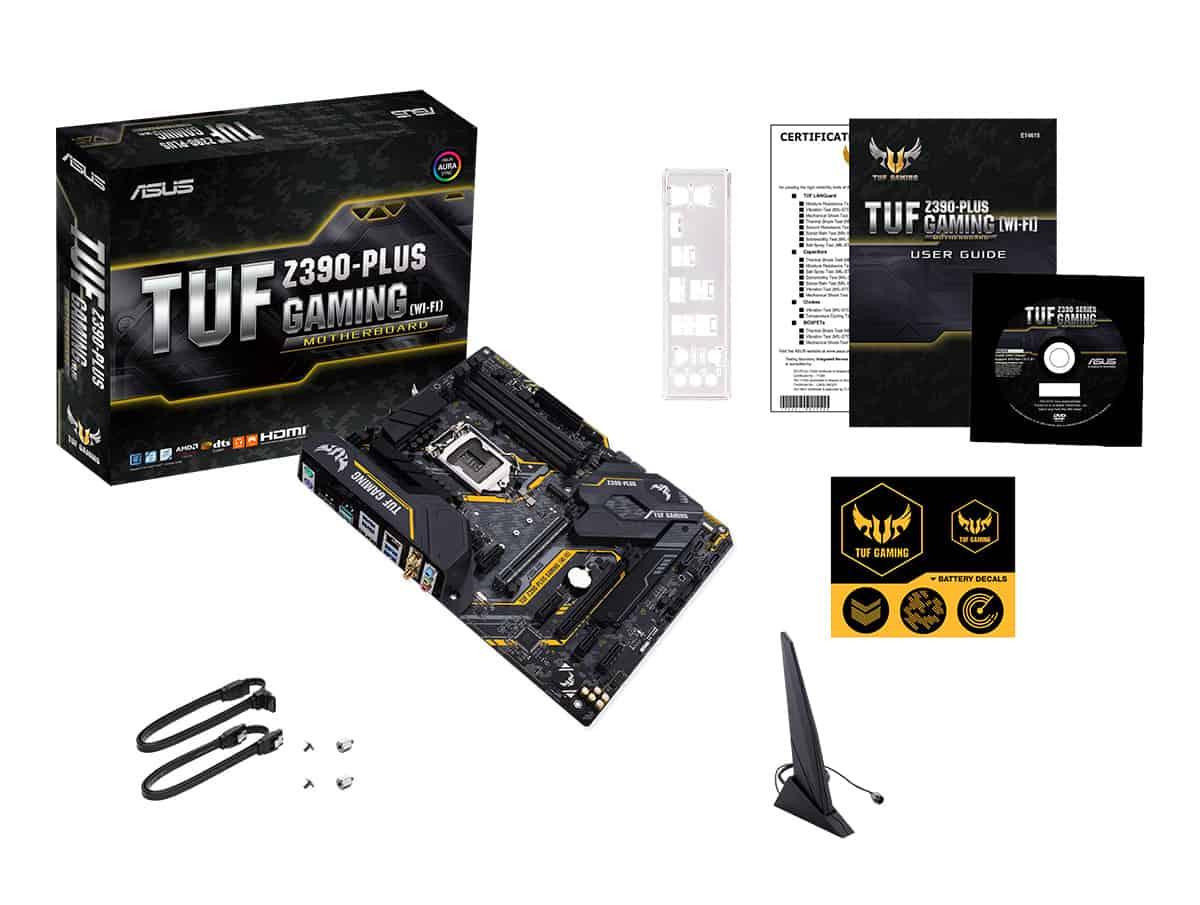 TUF Z390-PLUS (WIFI)_What's in the box_EN