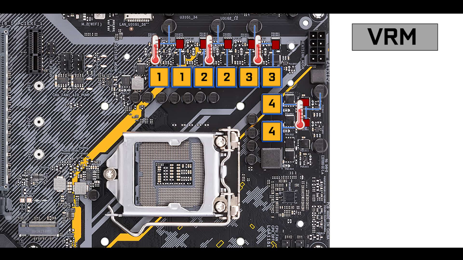 TUF Z390-Plus Gaming VRM