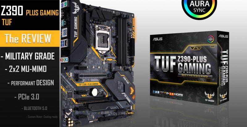 TUF Z390-PLUS GAMING (WiFi) - Laurent's Choice