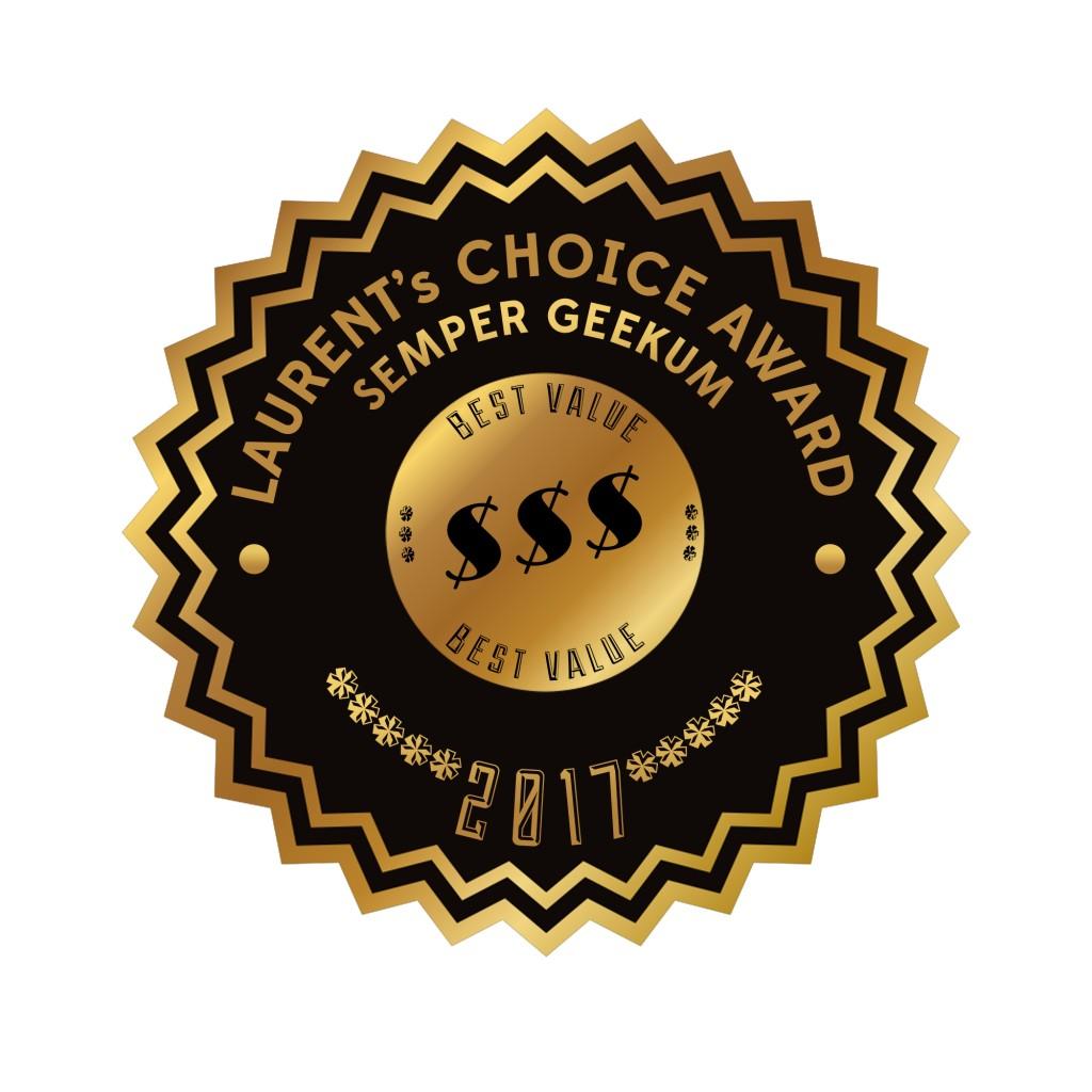 Laurent's Choice Award Best Value