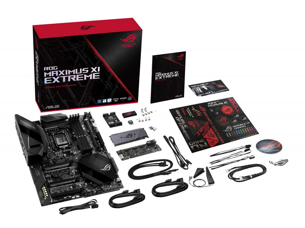 ROG Maximus XI Extreme What's in the box_White