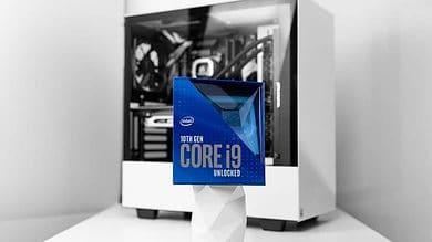!0th Gen Intel Core CPU, i9