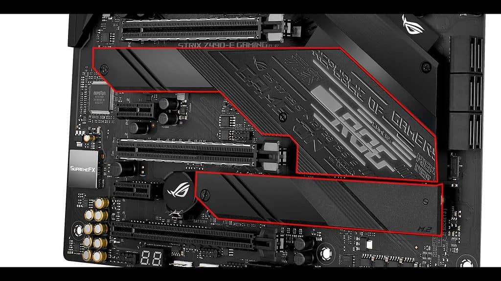 ROG STRIX Z490-E M.2 SSD