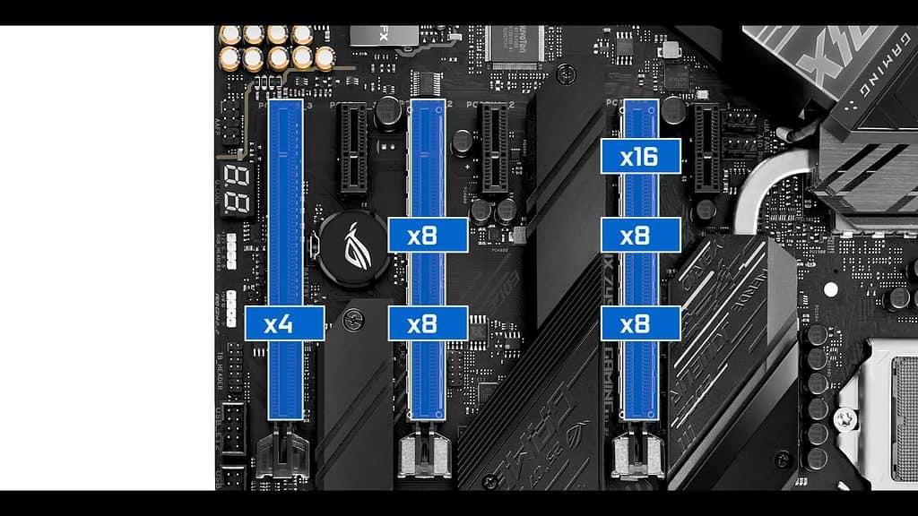 ROG STRIX Z490-E PCIe
