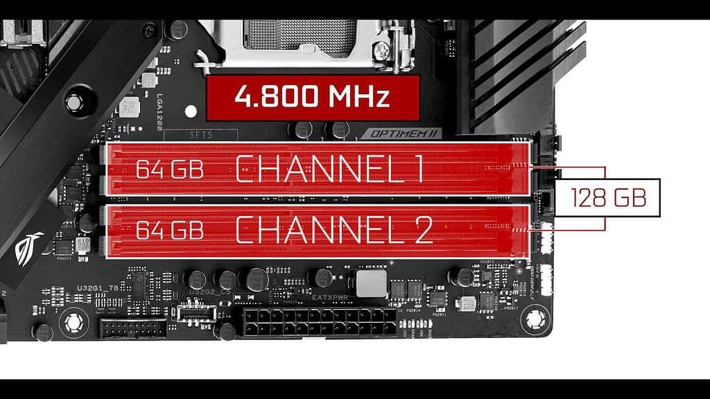 ROG STRIX Z490-E RAM