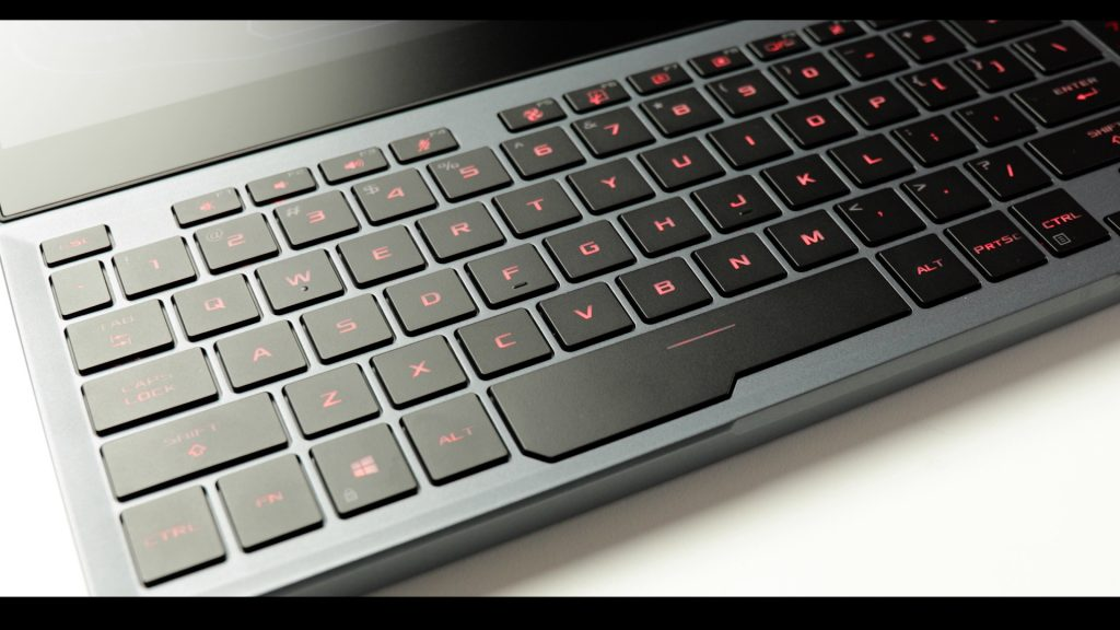 ZEPHYRUS DUO 15 Keyboard
